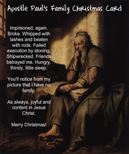 Apostle Pauls Family Christmas Card
