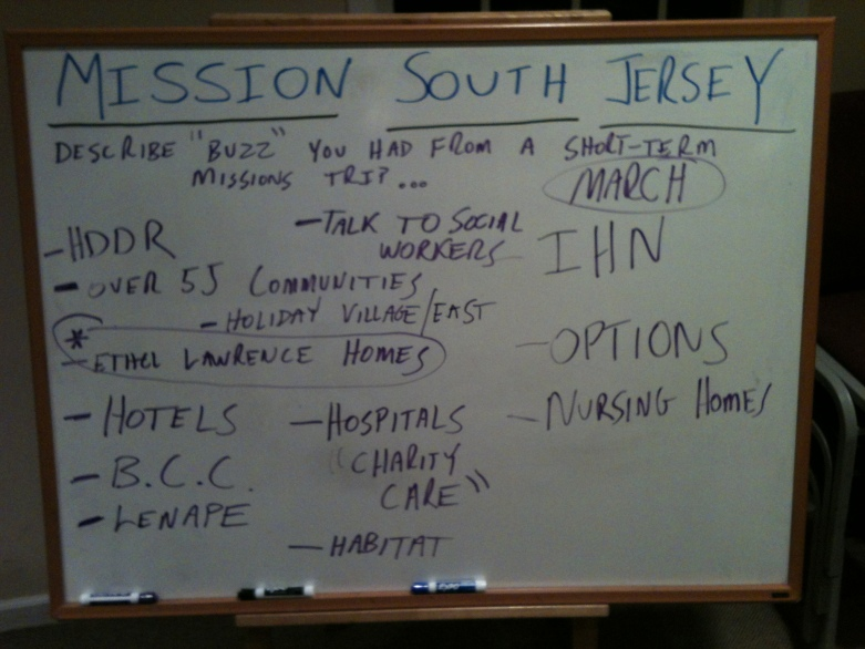 Mission South Jersey 2013