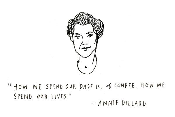 Annie Dillard-The WritingLife