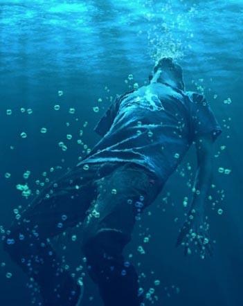 drowning-man