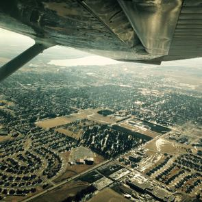 Aerial View Watertown