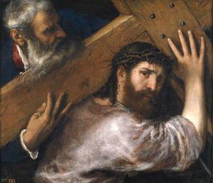 Titian Christ Cross 1565