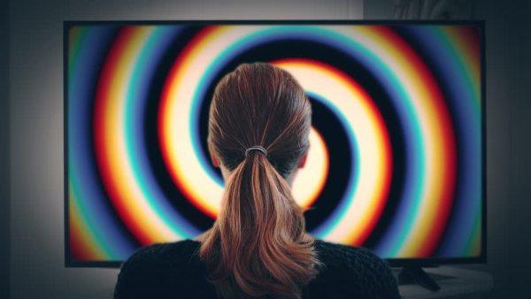 hypnotized by TV