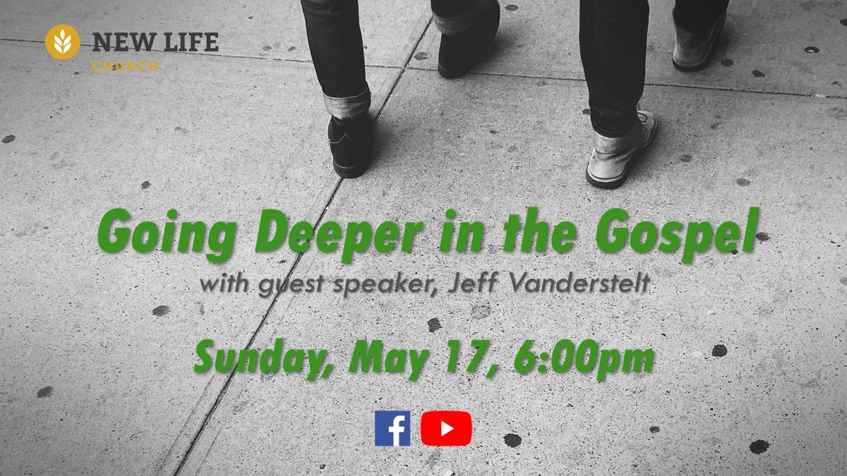 "Jeff Vanderstelt Speaking on ""Going Deeper in the Gospel"""